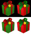 クリスマス用プレゼントボックス デスクトップアイコン